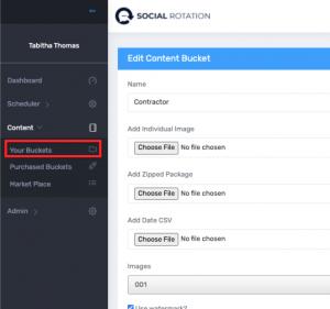 Create Your Content Bucket 2