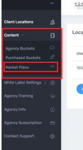 Step 1 Content Marketplace