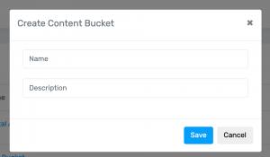 Step 3 Name Bucket