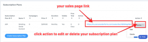 Step 5a Sales Page Link